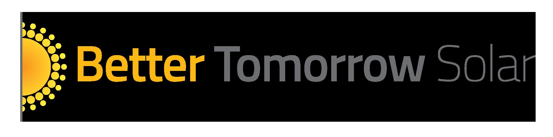 Better Tomorrow Solar logo